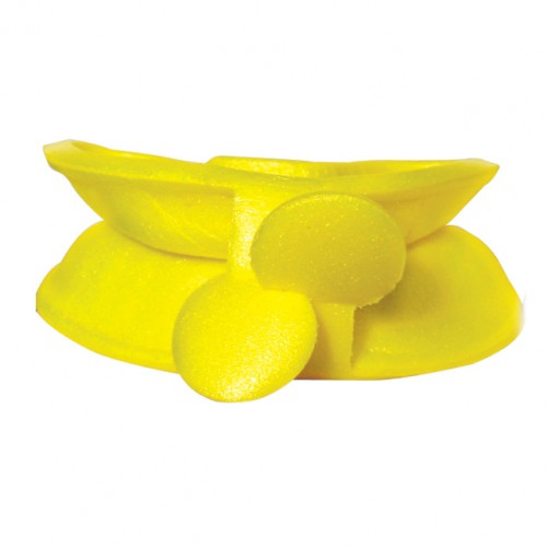 maxill Dual Arch Hinged Fluoride Trays - Medium (Yellow)