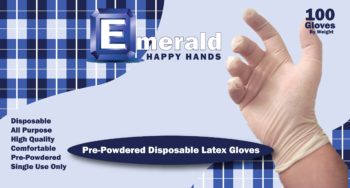 Happy Hands Latex Powdered Free GP Extra Large