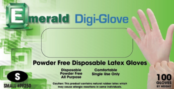 Emerald Digi Latex GP Powder Free Extra Small