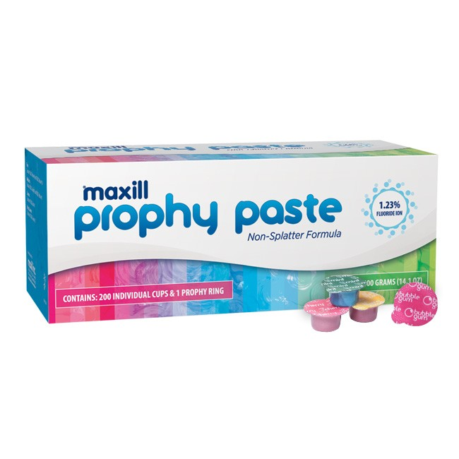 maxill Prophy Paste - Medium Grit - Assorted Flavors